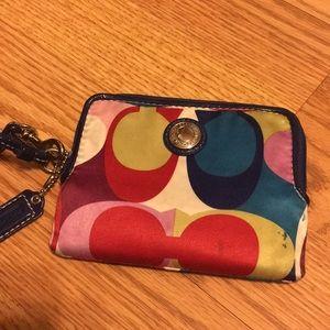 Matching Coach wallet (bag in closet)